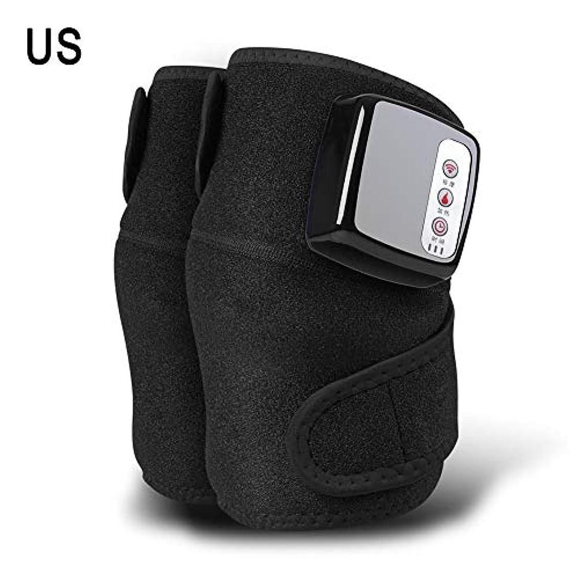 アドバンテージブラケットキモい膝マッサージャー、ホットコンプレス、振動、多機能充電式発熱膝マッサージャー、暖かい膝関節、古い冷たい脚