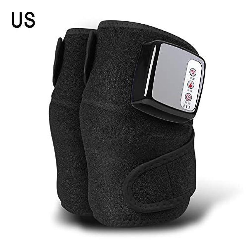 回転するかんたん項目膝マッサージャー、ホットコンプレス、振動、多機能充電式発熱膝マッサージャー、暖かい膝関節、古い冷たい脚