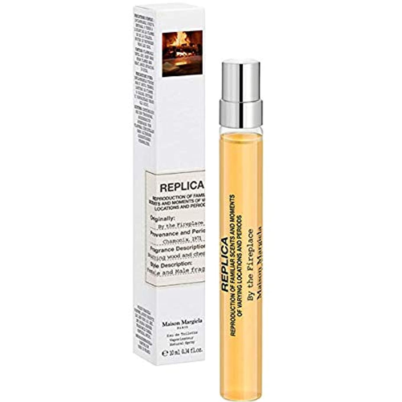 信じる批判的に炎上Maison Martin Margiela (メゾンマーチンマルジエラ)'REPLICA' By The Fireplace 0.34 oz/ 10 mL Eau de Toilette Travel Spray[海外直送品...