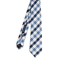 Tarocash Men's Louis Check Tie Fit Sizes XS-5XL for Going Out Smart Occasionwear Formal