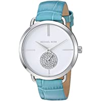 MICHAEL KORS Women's MK2720 Year-Round Analog-Digital Quartz Blue Band Watch
