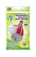 Mighty Clean Baby Disposable Toilet Seat Covers, 24 count (2 Packs of 12 Covers) by Mighty Clean Baby