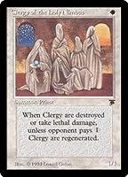 英語版 レジェンド Legends LEG Clergy of the Holy Nimbus マジック・ザ・ギャザリング mtg