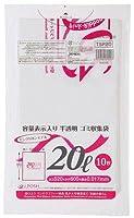 ジャパックス 業務用ポリ袋 20L TSP20 0.017mm 10枚×60冊