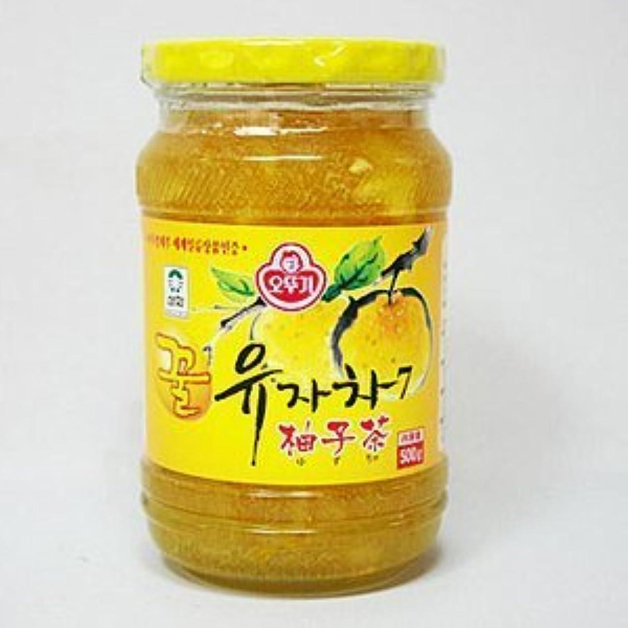 協力独立した天使韓国 柚子茶 お徳用1kg×5個セット (オットギ ゆず茶)