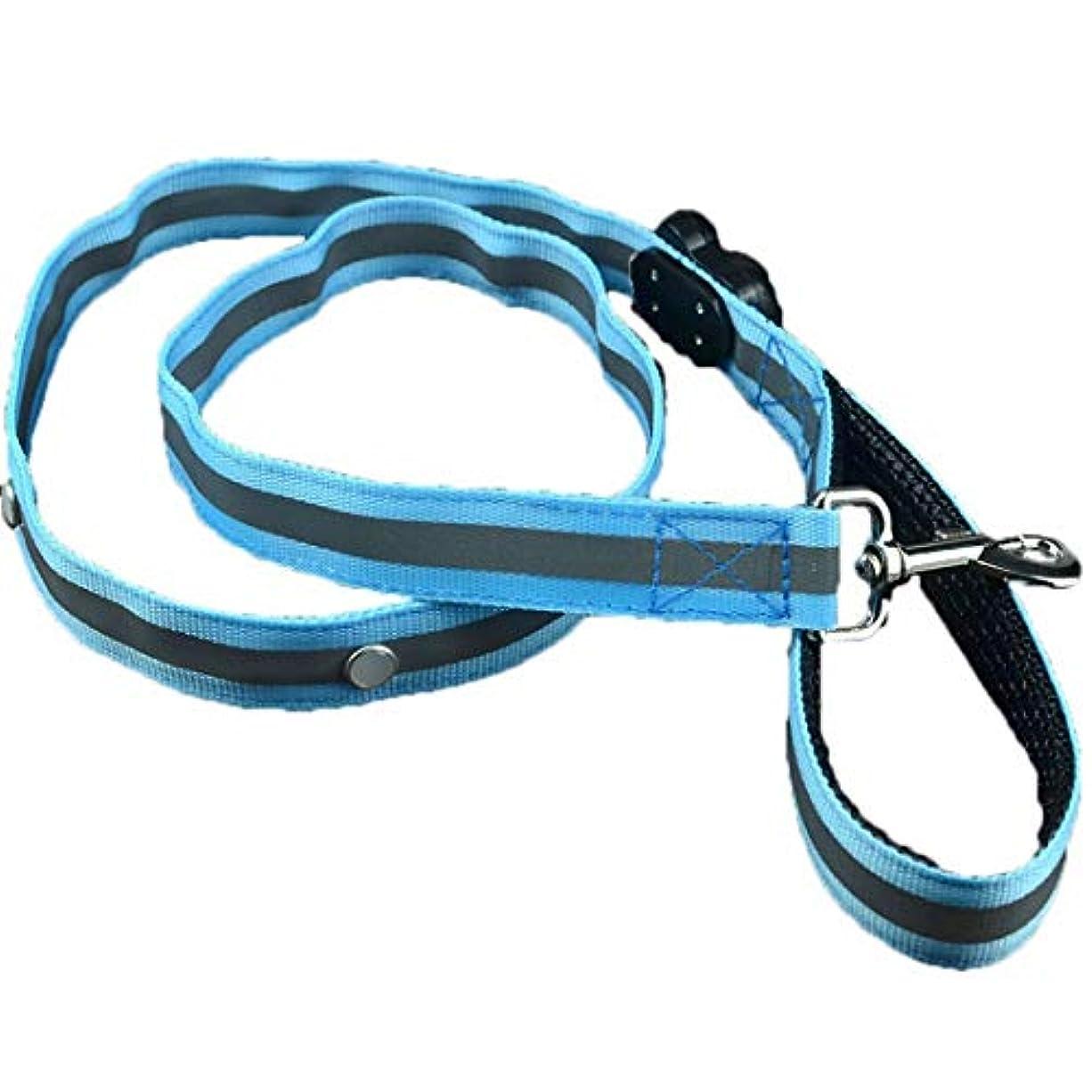 特許抑制カッターKoloeplf LEDライトペットリーシュナイロンドッグロープ小型中大型犬用引きベルト