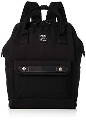 [モズ] 口金 リュックサック ZZCI-07A モズポケット がま口 口金 2気室 zzci-07a-black BLACK ブラック