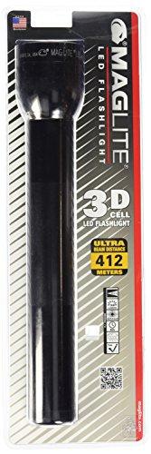 MAG-LITE(マグライト) 3Dセル(単1電池3本用) LED フラッシュライト ブラック ST3D016 ※電池別売