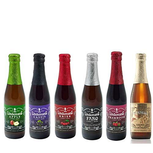 ベルギービール飲み比べセット リンデマンス社 6本 ベルギー クラフト ビール フルーツビール