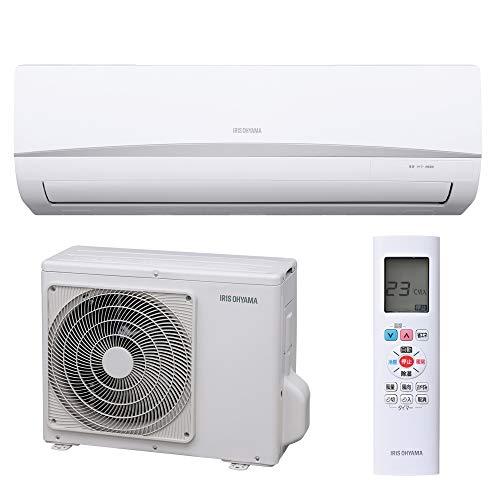 アイリスオーヤマ エアコン 6畳用 冷暖房 室外機セットモデル