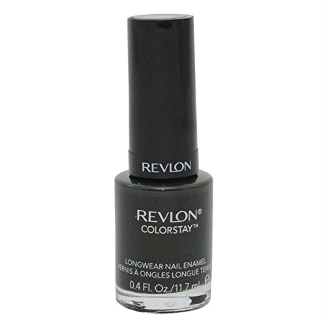 レモンぞっとするような迷彩REVLON COLORSTAY LONGWEAR NAIL ENAMEL #225 JUNGLE