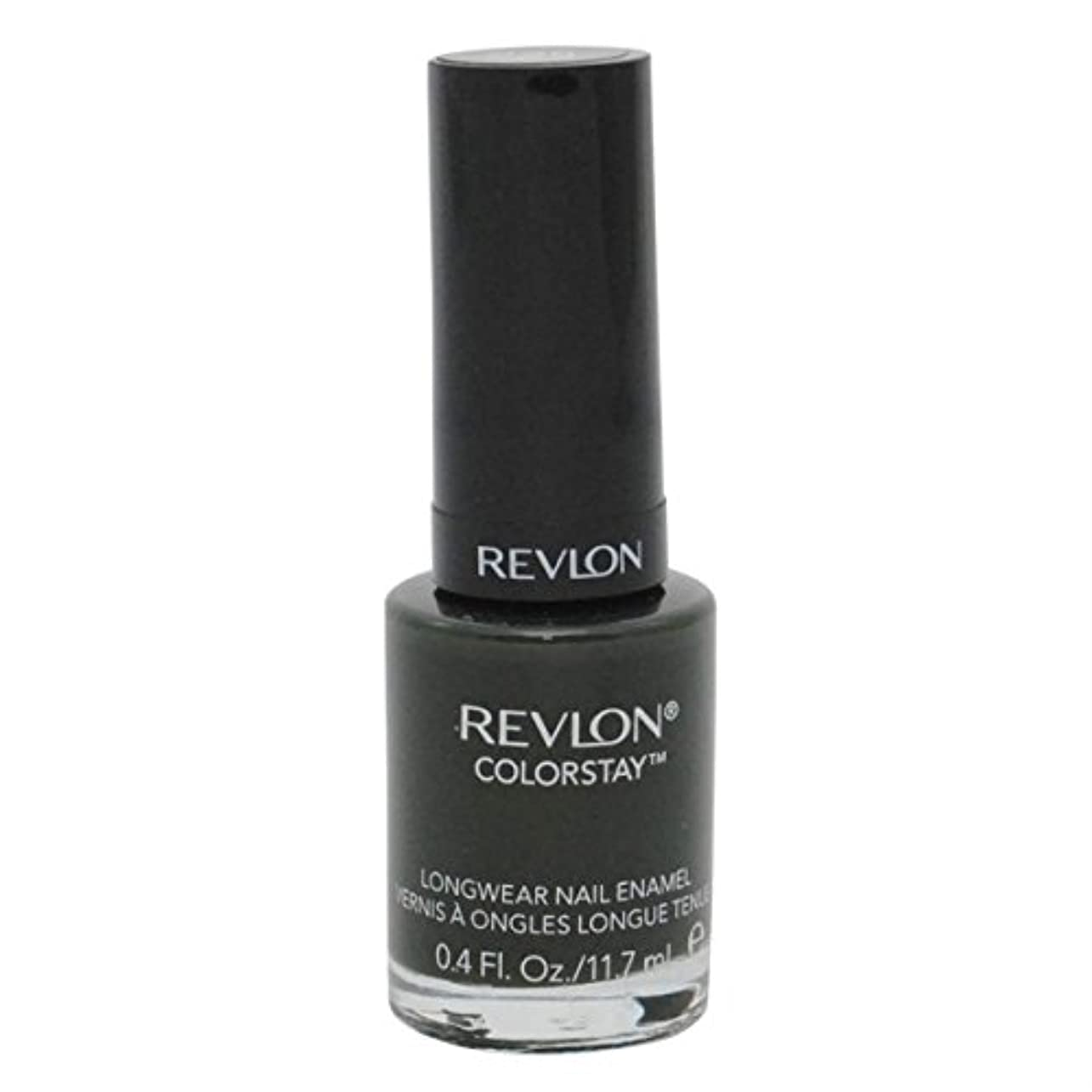 お母さん新しさ彼REVLON COLORSTAY LONGWEAR NAIL ENAMEL #225 JUNGLE