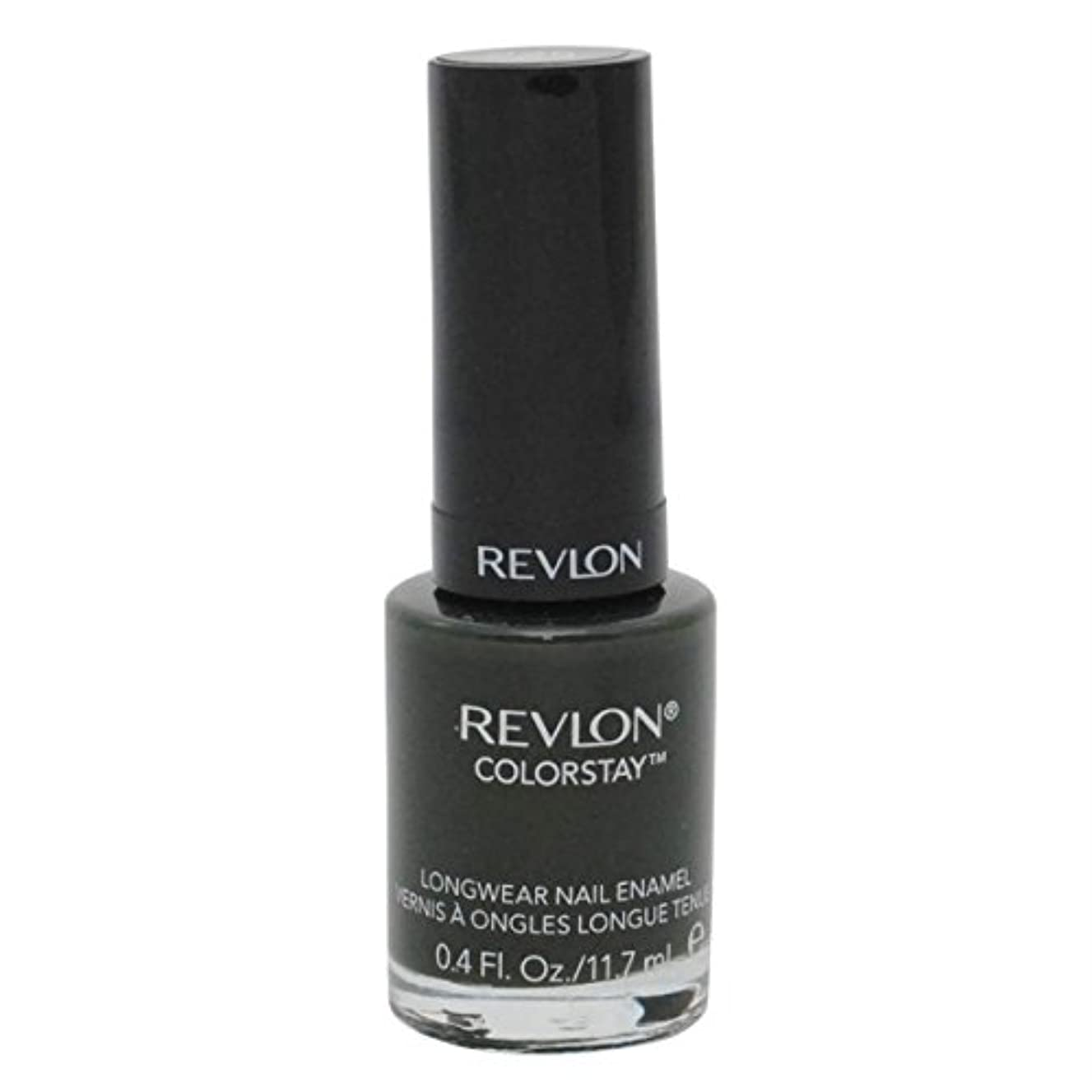 敷居浸した等REVLON COLORSTAY LONGWEAR NAIL ENAMEL #225 JUNGLE