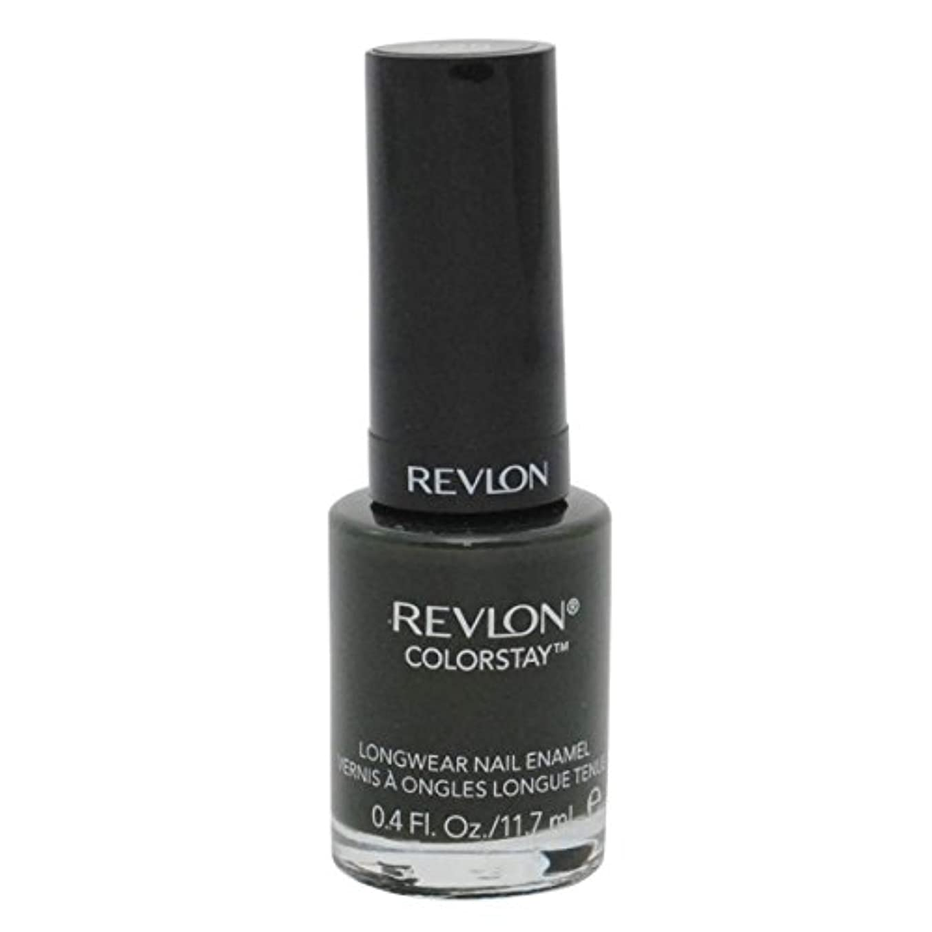 触手炭素保険をかけるREVLON COLORSTAY LONGWEAR NAIL ENAMEL #225 JUNGLE