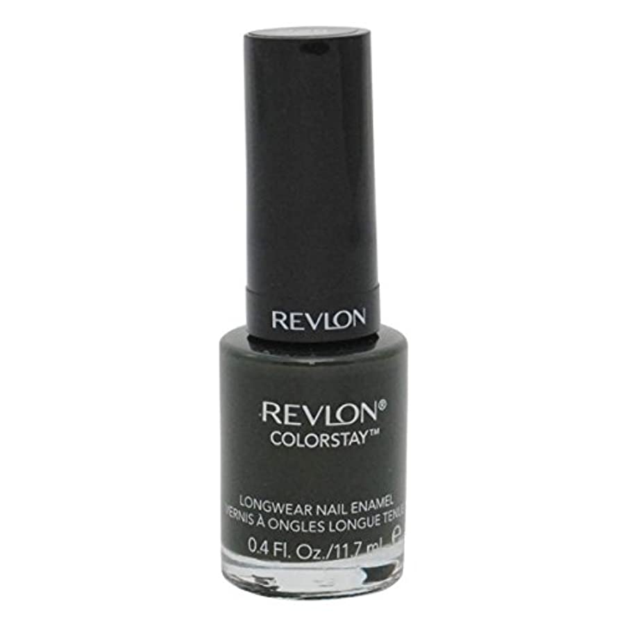 動かないリズムの慈悲でREVLON COLORSTAY LONGWEAR NAIL ENAMEL #225 JUNGLE