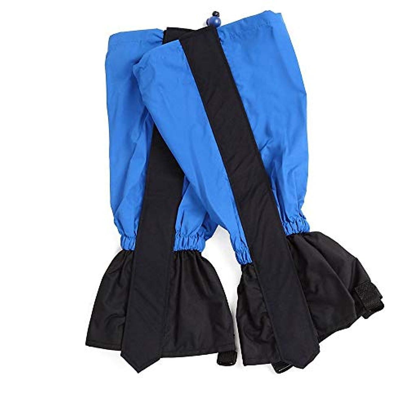 お母さんバッグあいさつSimg 防水 登山ゲイター ショット 泥除け 登山 トレッキング 雨 悪天候の日に 男女兼用