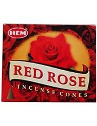 HEM (ヘム) コーンお香 RedRose(レッドローズ)