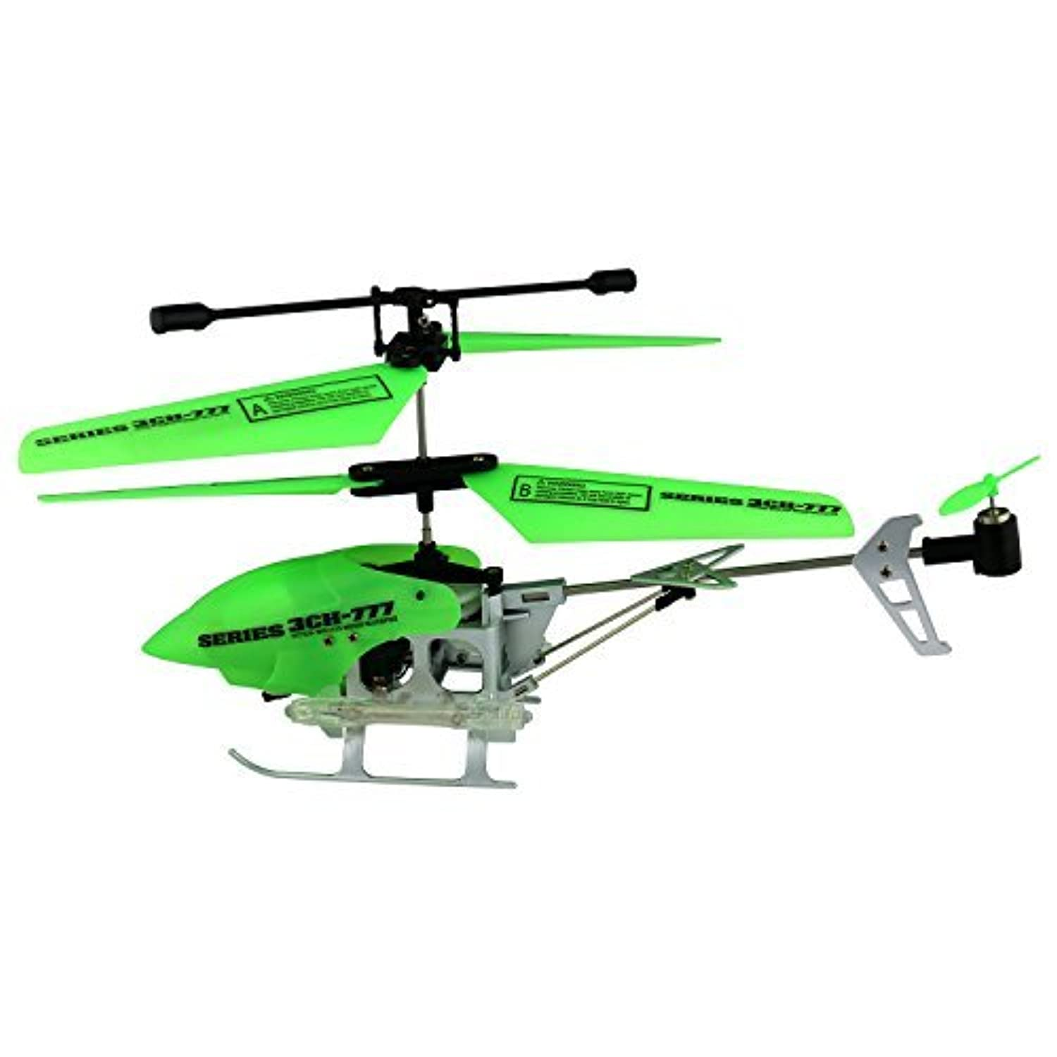 Series3CH-778 GHG3-6-5850 3 Channel Glow In The Dark Green Tactical Wireless Indoor Helicopter by Series3CH-778 [並行輸入品]