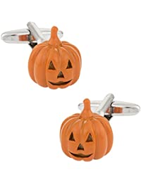 Cuff - Daddy Jack O lantern pumpkin Halloween Cufflinks withプレゼンテーションボックス