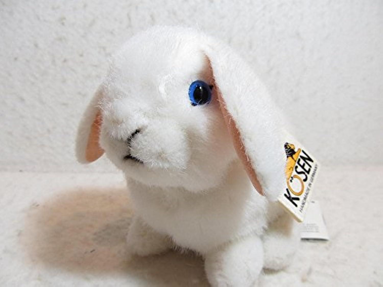 ケーセン ぬいぐるみ たれ耳うさぎの子 白 K6160 YOUNG DWARF LOP WHITE