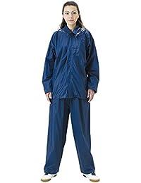 アーヴァン ビニールスーツ 全4サイズ 上下スーツ ネイビー 3L 防水 2層レイヤー [正規代理店品]