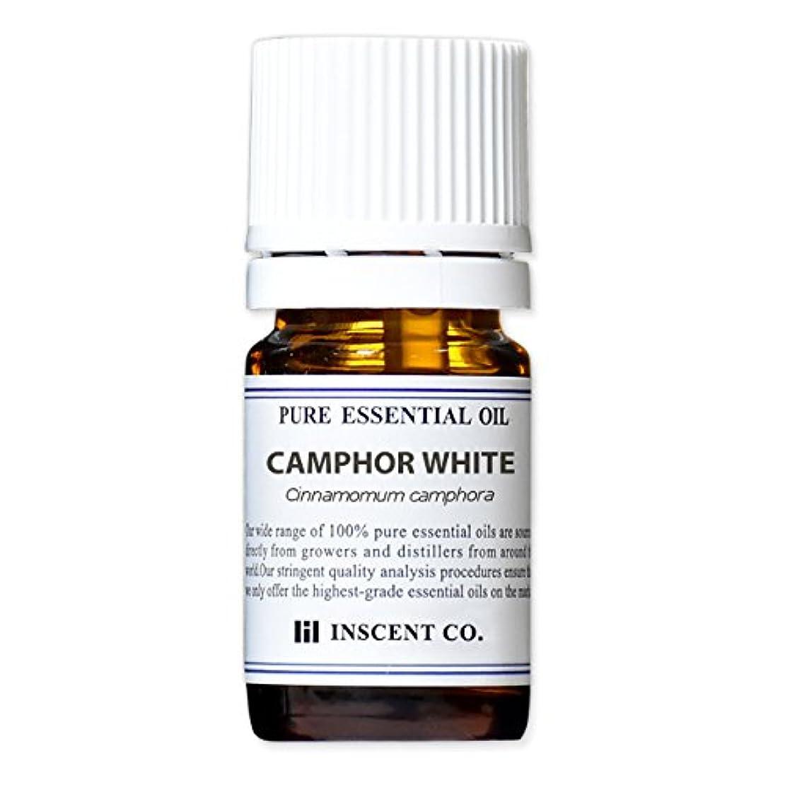 ポンプ乳成熟したカンファー (ホワイト) 5ml インセント アロマオイル AEAJ 表示基準適合認定精油