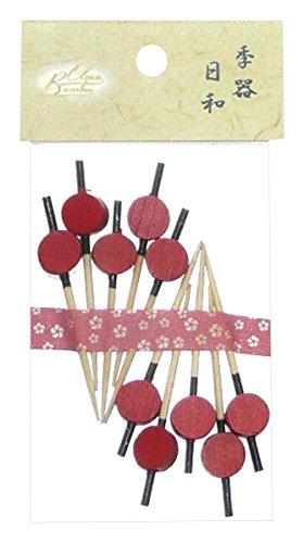 Bamboo クリーンバンブー Clean Bamboo クリーンバンブー 新かんざし串 5cm 10本入 69-910-3