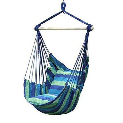 Wnnideo ロープチェア ハンギング ハンモック ガーデンアウトドア 室内 ブランコ