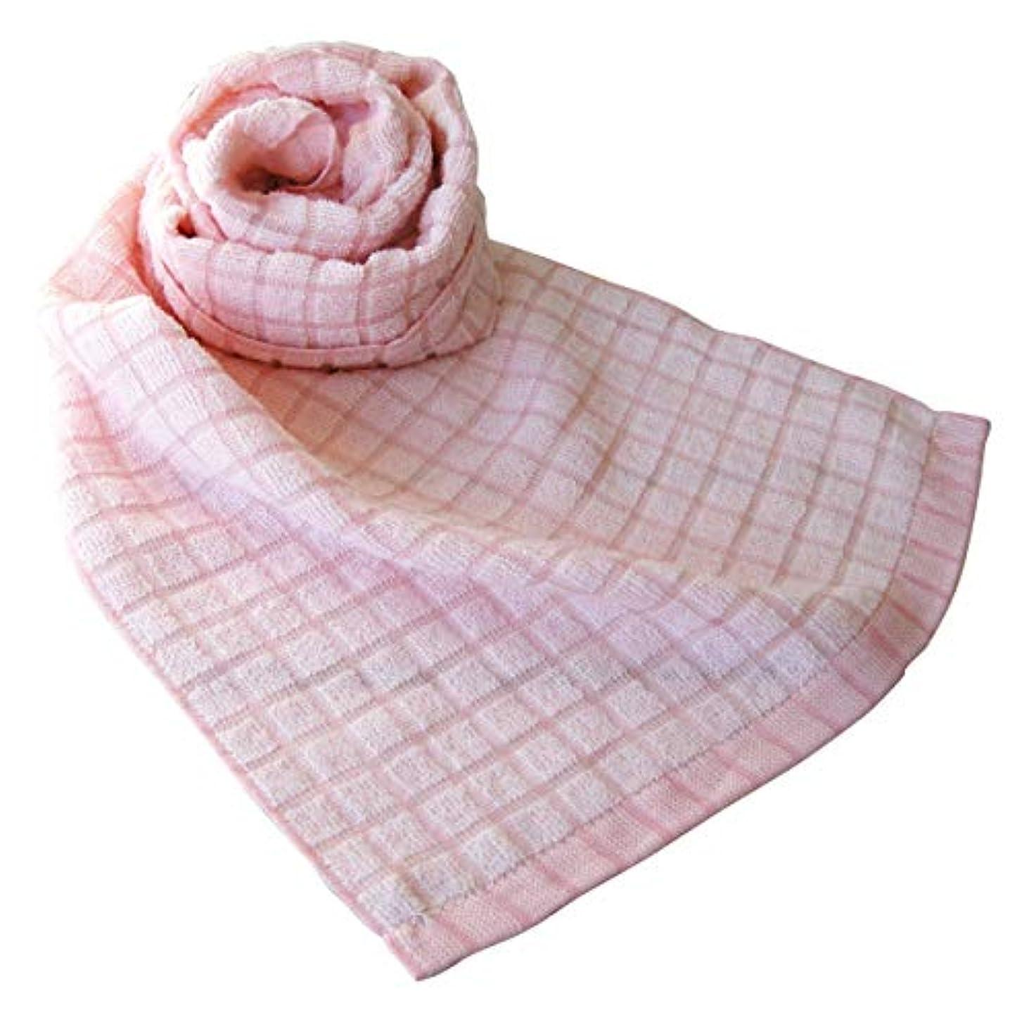 おばさん醜いスカーフ今治タオル 今治 タオル ボディタオル もってこタオル 2Way ボディータオル オリム ORIM CL-1500 全12色(ローズ)