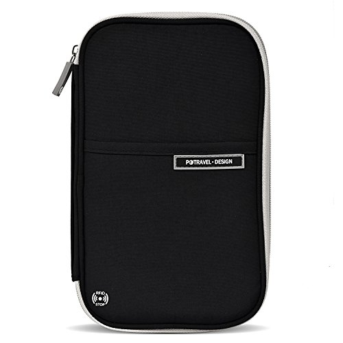 クロース(Kroeus)多機能パスポートケース スキミング防止 防撥水 おしゃれ パスポートバッグ ポーチ 貴重品入れ 人気 大容量 航空券 海外旅行 出張