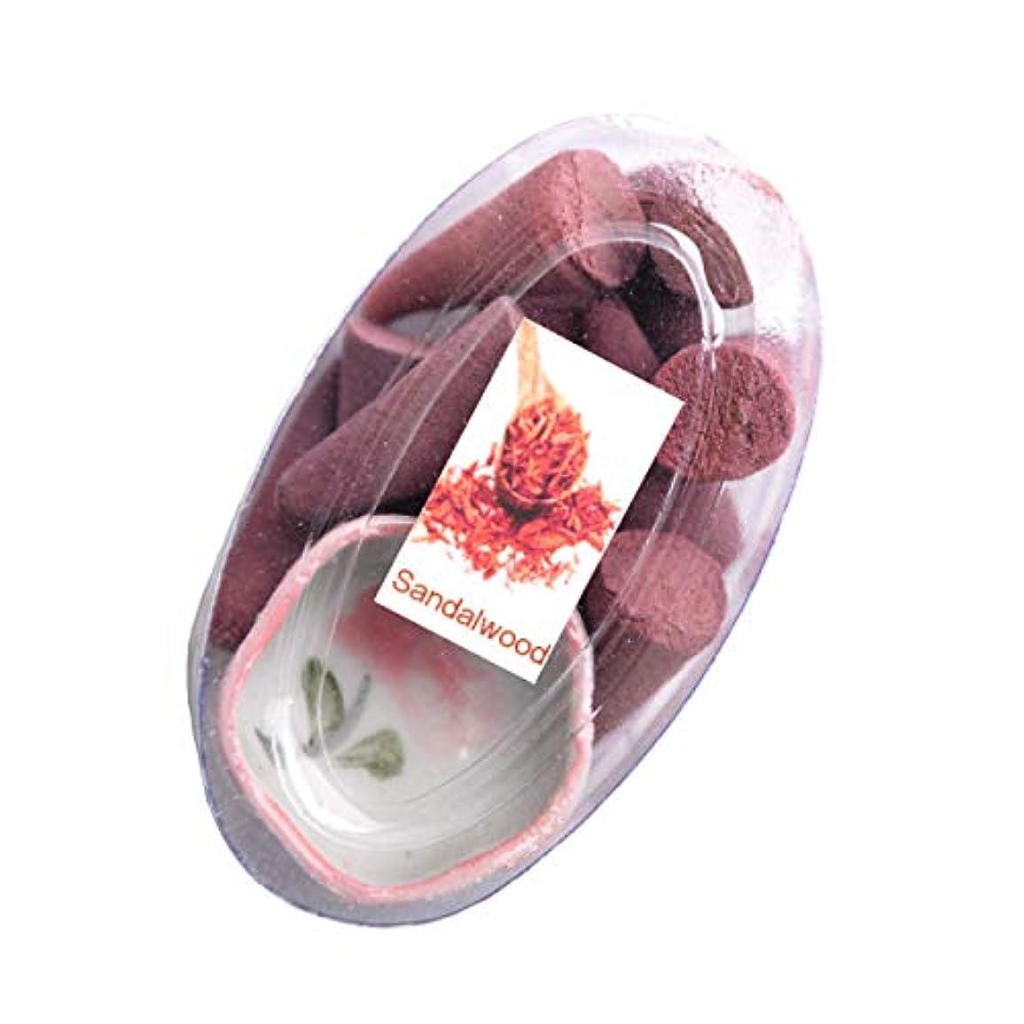 予見する広々オアシスMARAI(マーライ) お香 コーン お香たて付き サンダルウッド