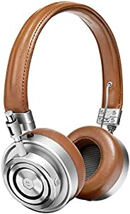 Master & Dynamic MH30 Foldable Premium Leather On-Ear Wired Headphones, with Superior Sound Quality and Hi