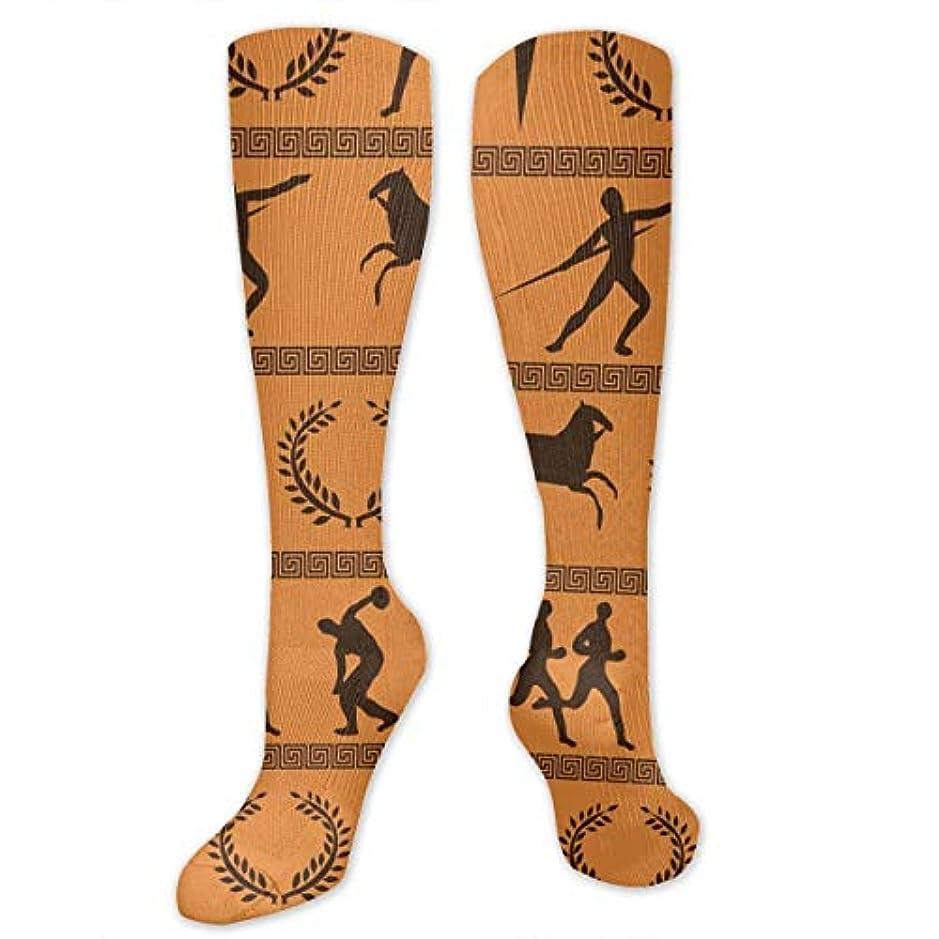 醜いタイマー速記靴下,ストッキング,野生のジョーカー,実際,秋の本質,冬必須,サマーウェア&RBXAA Ancient Greek Olympics Socks Women's Winter Cotton Long Tube Socks...