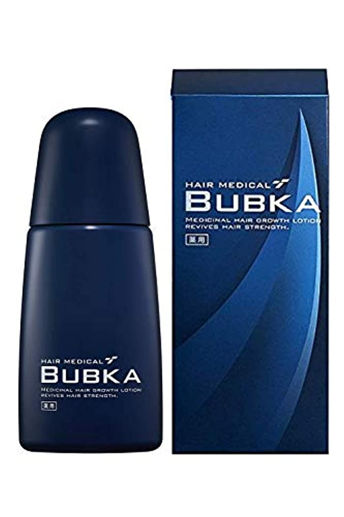 贅沢ポーターイヤホン【医薬部外品】BUBKA(ブブカ) 濃密育毛剤 BUBKA 003M 外販用青ボトル (単品)