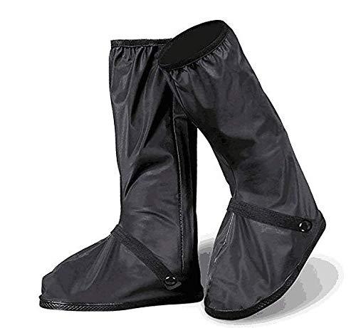 [Sheltons] 防水 雨具 シューズカバー 靴カバー 滑り止め 梅雨対策 男女兼用 (M/靴底長さ28.5cm, ブラック)