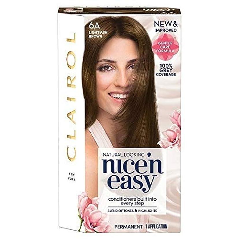 仮装ノート下着[Nice'n Easy] Nice'N簡単な図6Aライトアッシュブラウン - Nice'n Easy 6A Light Ash Brown [並行輸入品]