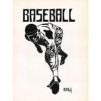 Clark Baseball University Southern California Graphic Premium Wall Art Canvas Print 18X24 Inch 野球カリフォルニアグラフィック壁