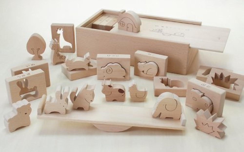 木製おもちゃのだいわ 森のシーソー