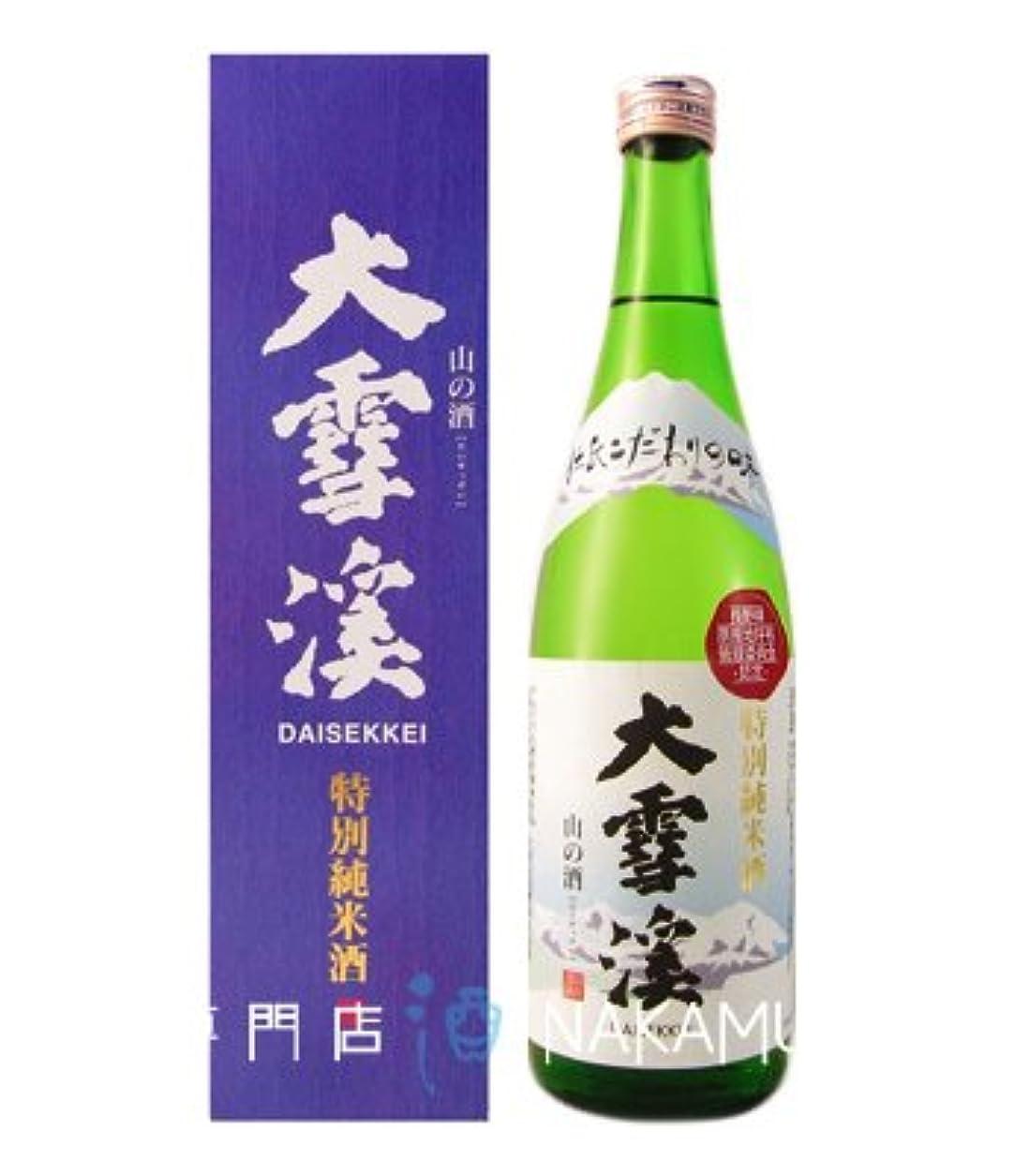 差別豊富なたまに大雪渓 特別純米酒 720ml 箱入り 大雪渓酒造 長野県 安曇野 地酒 日本酒