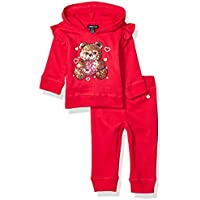 Limited Too Baby Girl's Hooded Sweatshirt and Jogger Set Pants