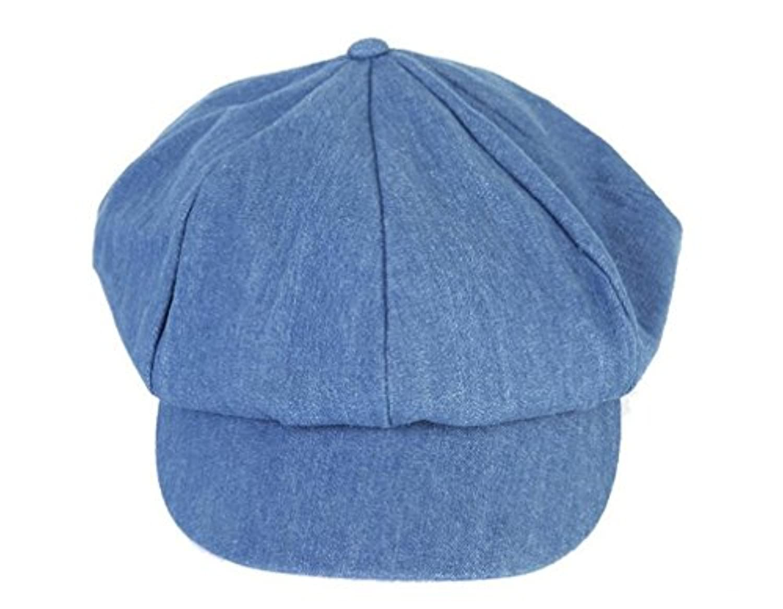 ベレー帽 レディース 無地 デニム ハンチング キャスケット きれいめ ハット 女優帽 シンプル キャップ ベーシック帽子 おしゃれ