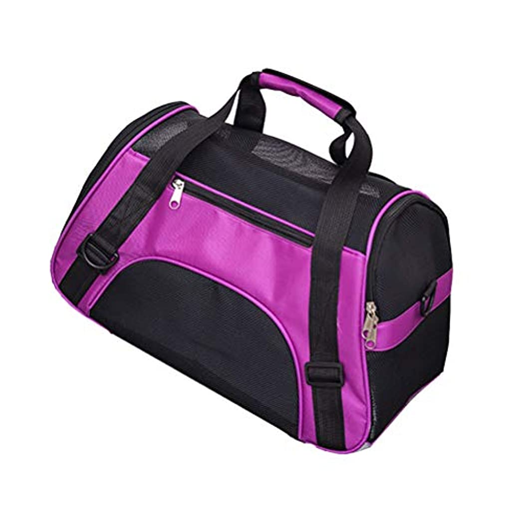 機会対応する良いペット旅行キャリアスリングハンズフリーペット子犬アウトドアバッグトートバッグ (色 : ローズ, サイズ さいず : L l)
