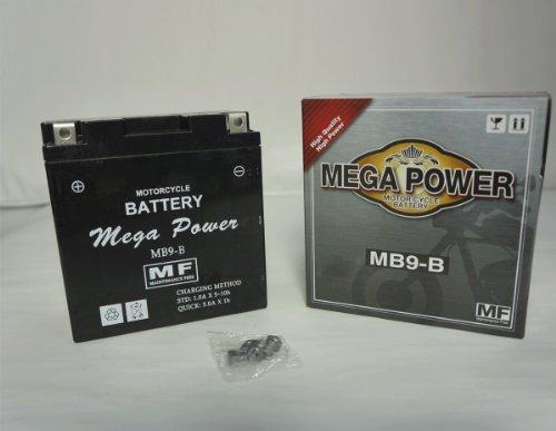 バイク バッテリー ベンリイ125 型式 CD125T 一年保証 HB9-B 密閉式