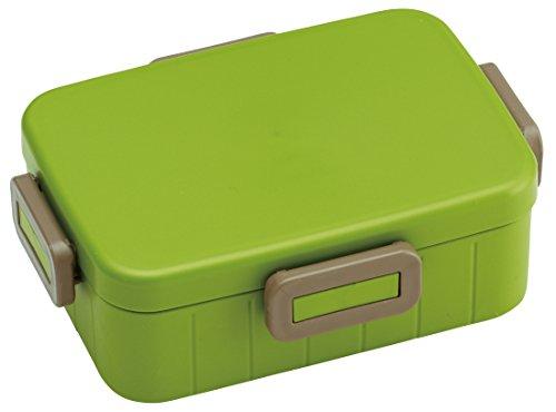 4点ロック ランチボックス 650ml 弁当箱 アースカラー モスグリーン 日本製 YZFL7