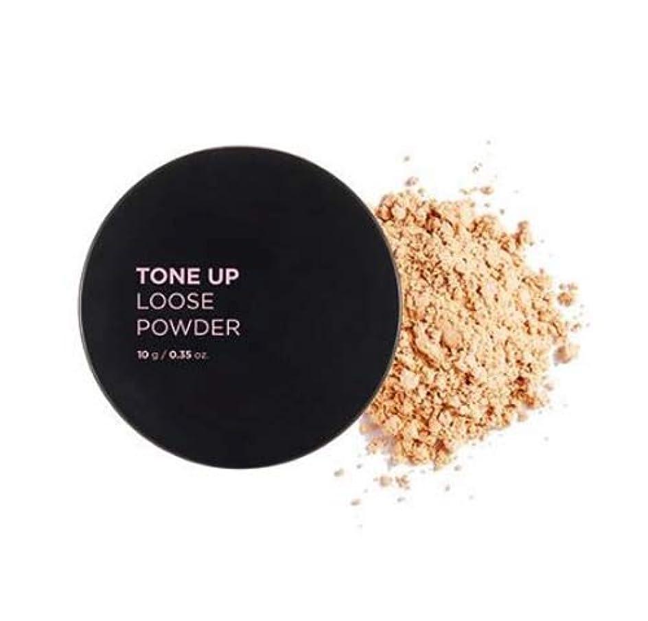 怠けたリアル褐色[ザ?フェイスショップ] THE FACE SHOP [トンアップルースパウダー 10g] Tone Up Loose Powder 10g [海外直送品] (#01. Apricot Beige)