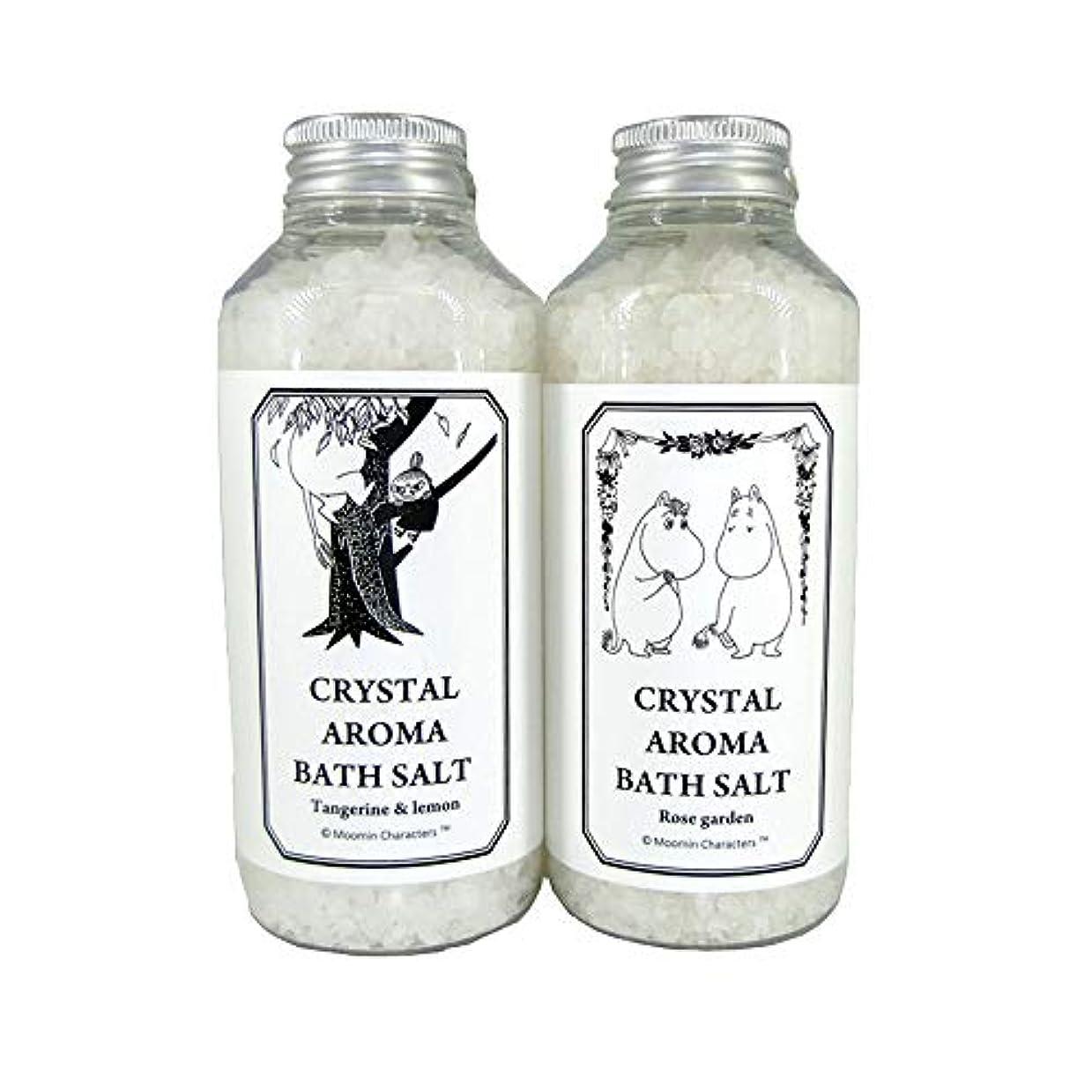 定義するチェスをするちらつき【ムーミン】アロマバスソルト セットB タンジェリン&レモンの香り?ローズガーデンの香り