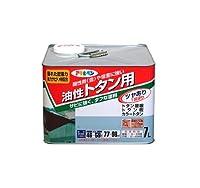 アサヒペン 油性トタン用 7L ねずみ色 【まとめ買い3缶セット】