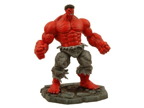 Marvel Select : Online Exclusive ' Red ' Hulkアクションフィギュア
