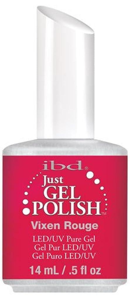 マイクロ問い合わせパラシュートIBD Just Gel Polish - Vixen Rouge - 0.5oz / 14ml