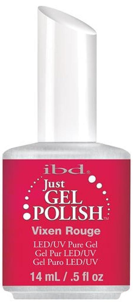 誠意民主党従うIBD Just Gel Polish - Vixen Rouge - 0.5oz / 14ml